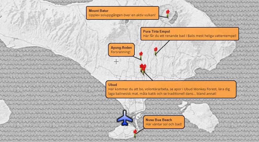 Äventyrsresa-Bali-karta