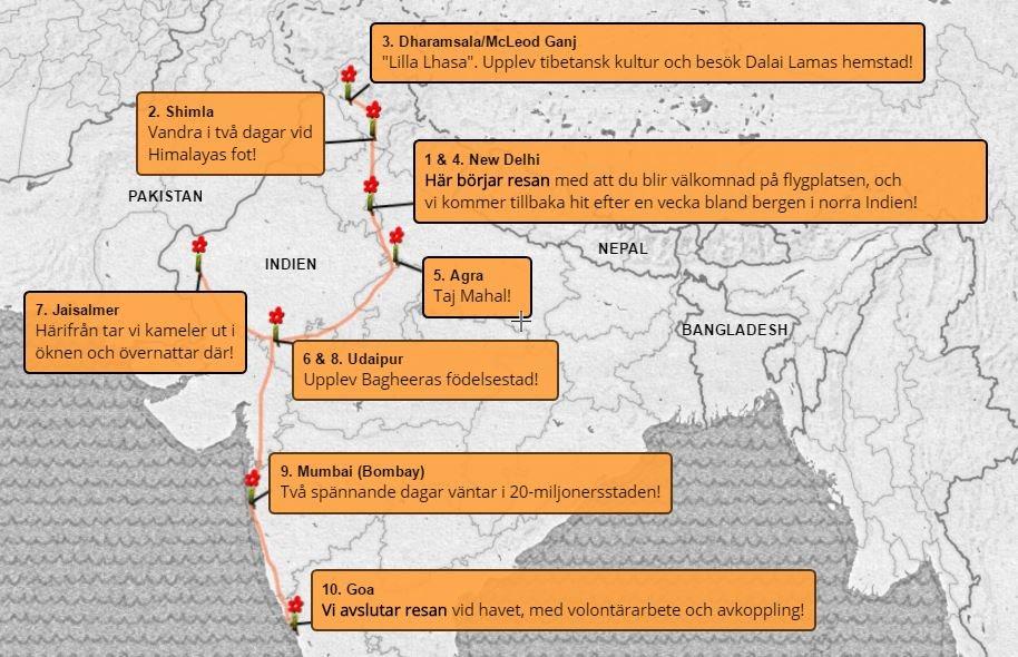 Äventyrsresa-Indien-karta-indigotravel