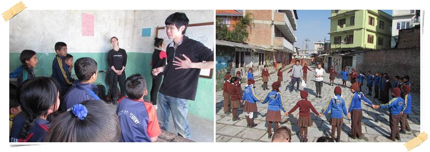 volontärarbete-skola-nepal