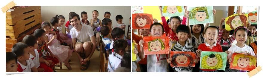 volontärresor-barn-kina