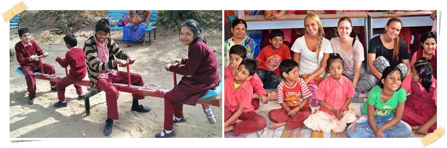 volontärresor-indien-mentalt-handikappade