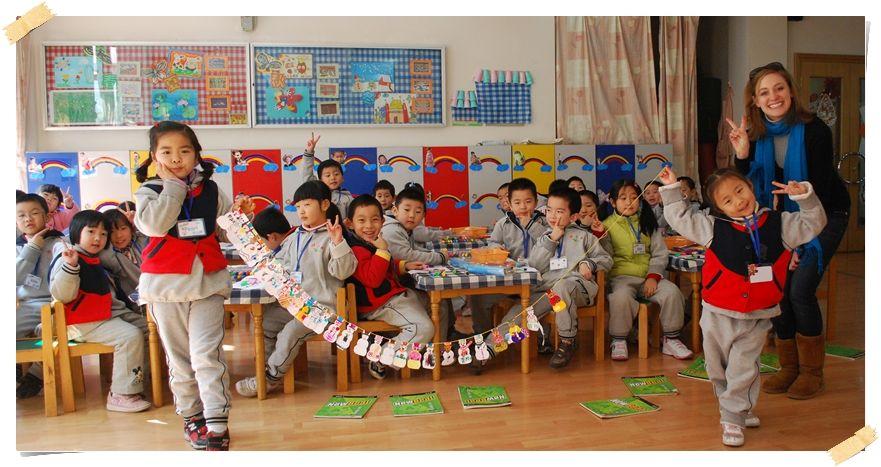 volontär dagis kina