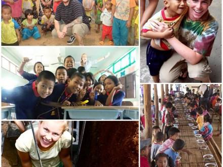 Volontärresa hilltribe norra Thailand
