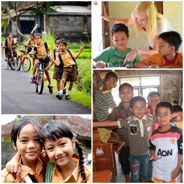 Volontärresa till Bali och undervisa på skola