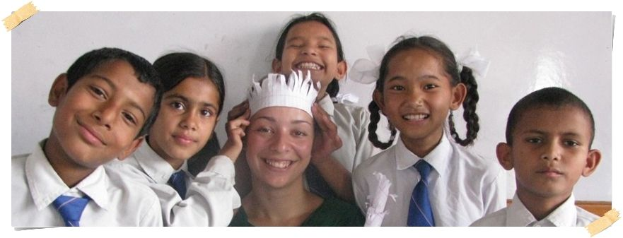 Å jobbe som frivillig lærer i Nepal