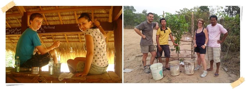 frivillig arbeid i Kambodsja