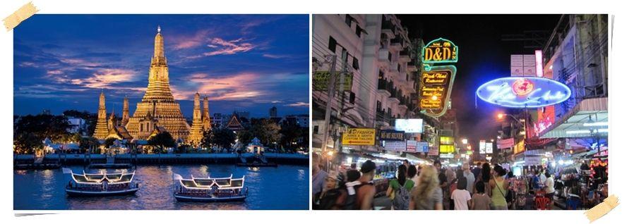 Wat Arun Khao san Road
