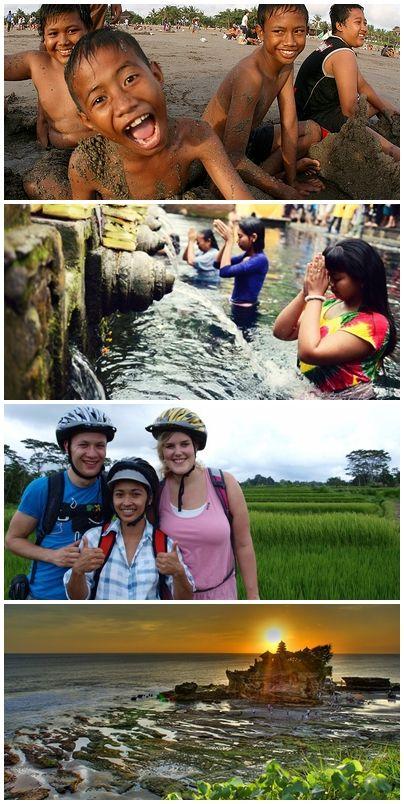 Bilder från volontärresor till Indonesien - Bali