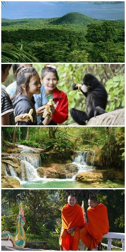 Bilder från volontärresor till Laos