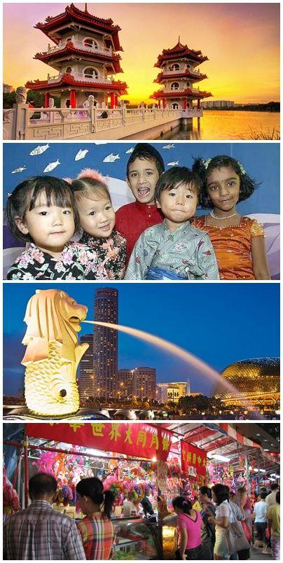 bilder från volontärresor till Singapore