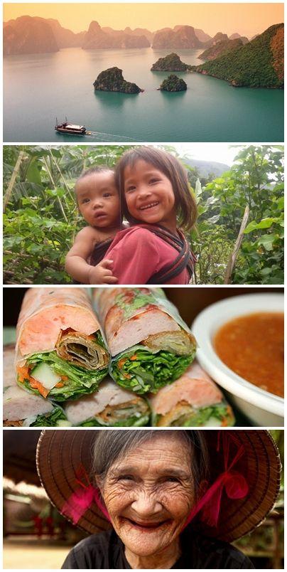 Bilder från volontärresor till Vietnam