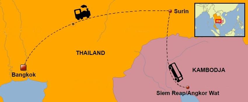 Thailand-Kambodja