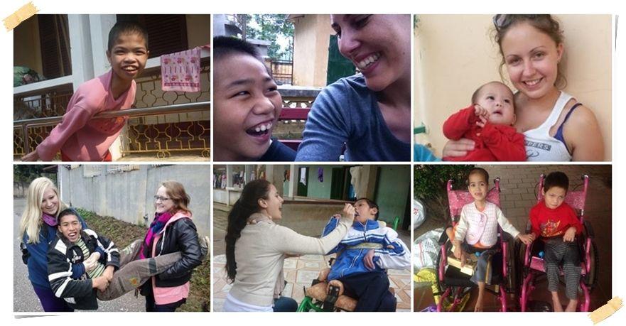 volontär barnhem vietnam