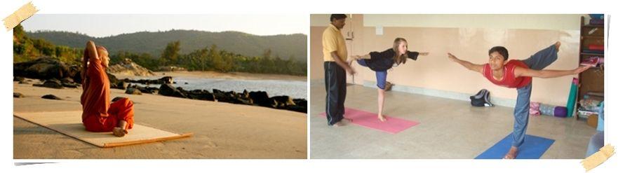 Lær Yoga i Goa i India