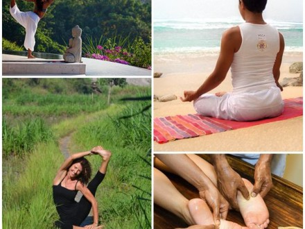 Yoga och meditation på Bali