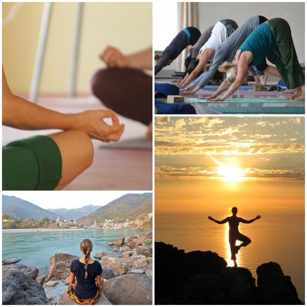 Yoga och meditation i Rajasthan Indien