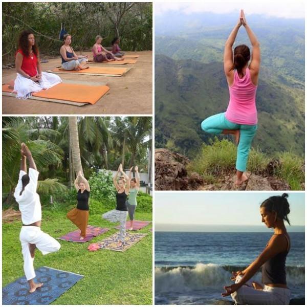 Yoga och meditation på Sri Lanka