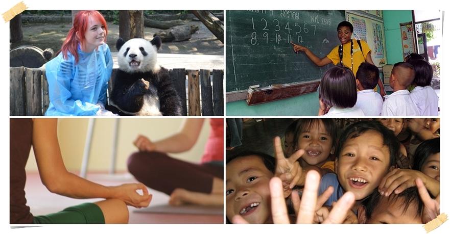 Gör ditt gymnasieprojekt och res samtidigt som volontär utomlands i något eller några länder i Asien