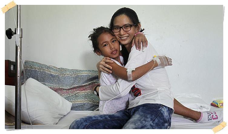 Volont채rjobba med barn p책 Filippinerna