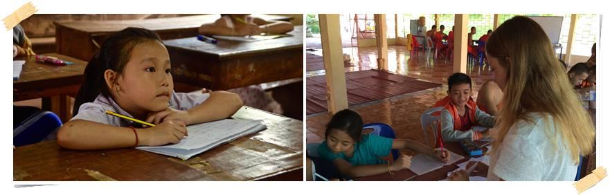 volontärararbete-skola-laos