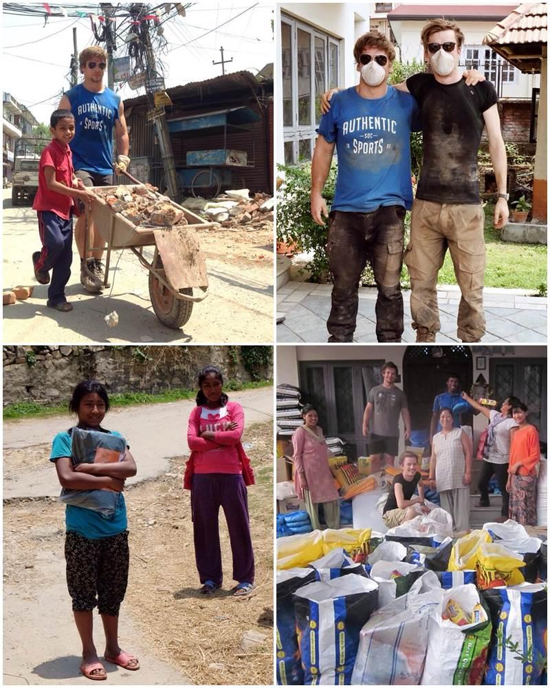volontärer-jordbävning-nepal