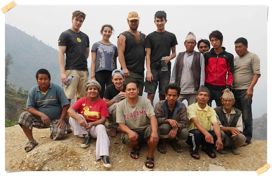 frivillig-arbeied-nepal-byggning