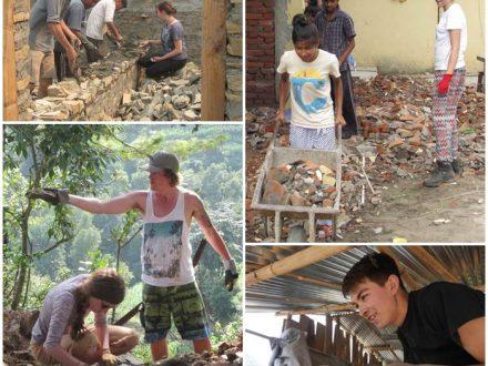 nepal-volontärarbete-jordbävning-återuppbyggnad