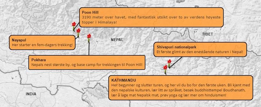 Eventyruke-Nepal-Poon-Hill-karte
