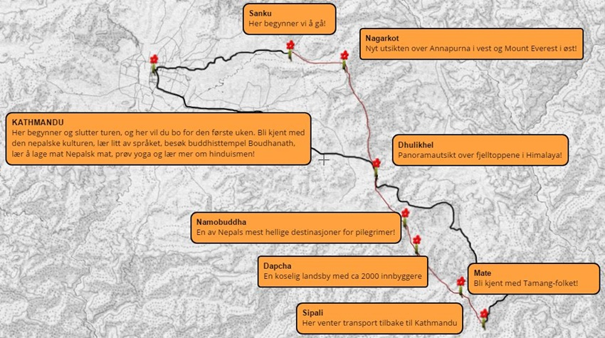 Trekking-Nepal-norsk-karte2