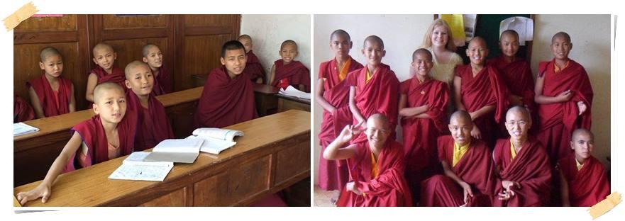 frivillig-arbeid-kloster-munkar-nepal