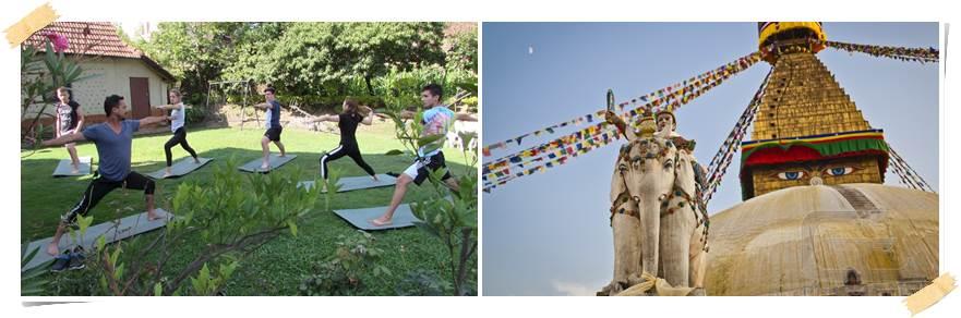 frivilligarbeid-nepal-yoga-Bouddhanath