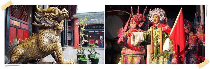 kinesisk opera chengdu kina
