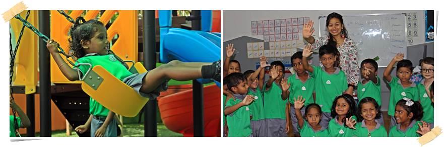 volontärarbete-förskola-maldiverna