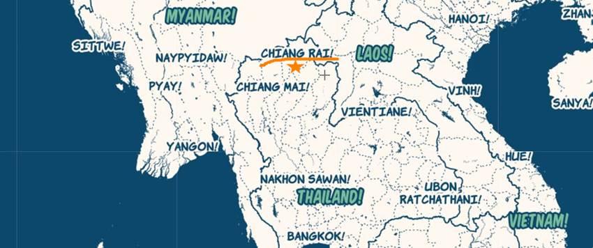 CHIANG RAI karta