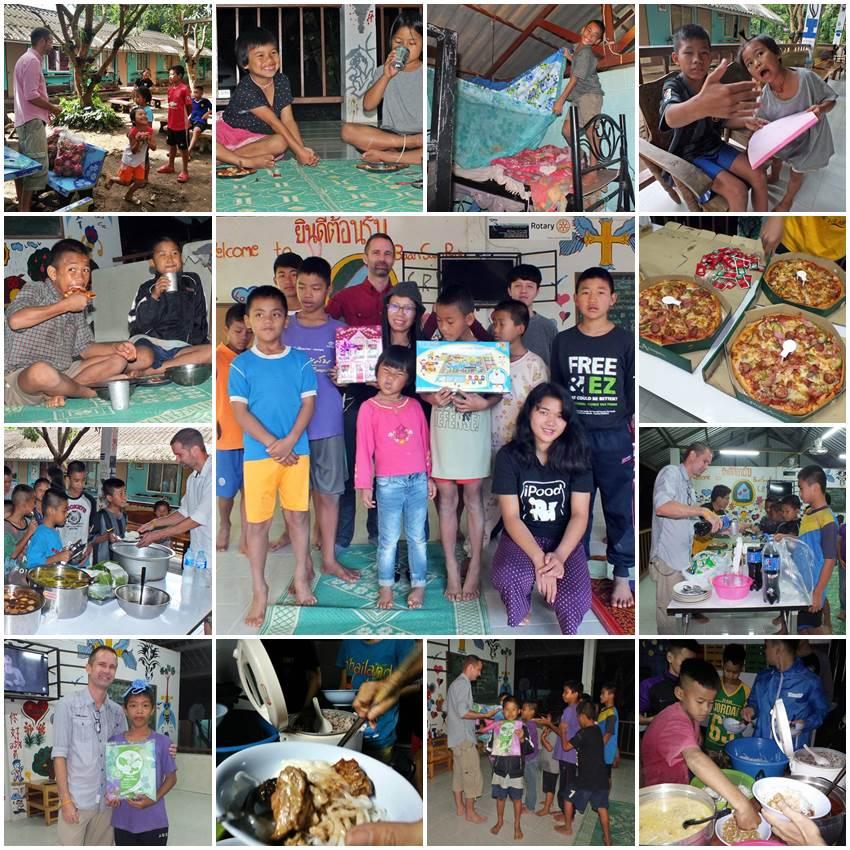 I Mina Skor, bidrag till barnhem i Thailand