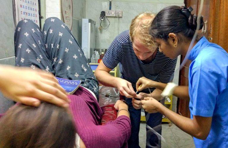 volontärresor-indien-sjukvård