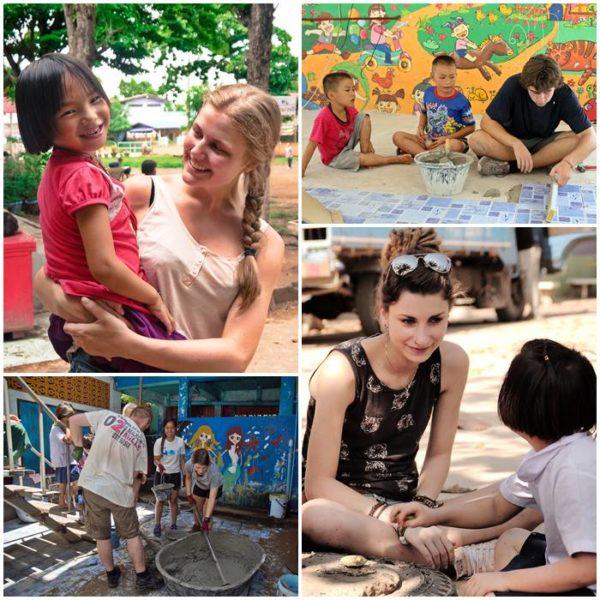 Travel Thailand IndiGo Frivillig tempelskole på i arbeidJobbe en SVqzUMp
