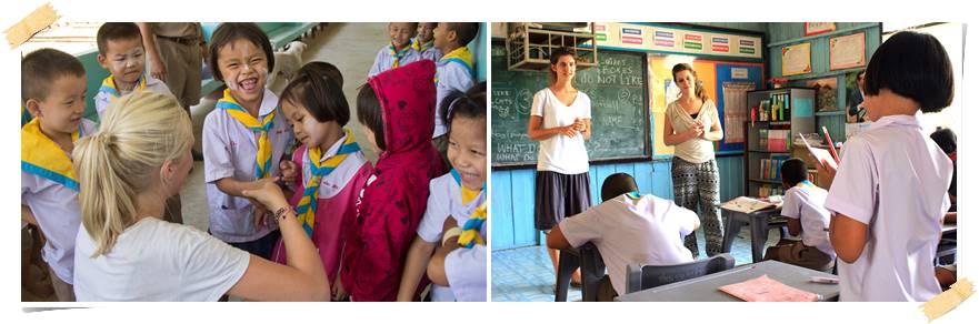 volontararbete-thailand-skola